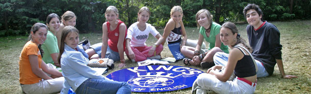 Summer camps for kids and teenagers in England UK